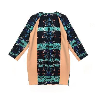 matal button point coats mint